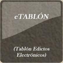 Consulta eTablon -Tablon de Edictos Electronicos